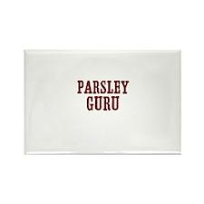 parsley guru Rectangle Magnet (100 pack)
