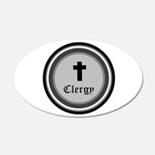 CLERGY Wall Decal