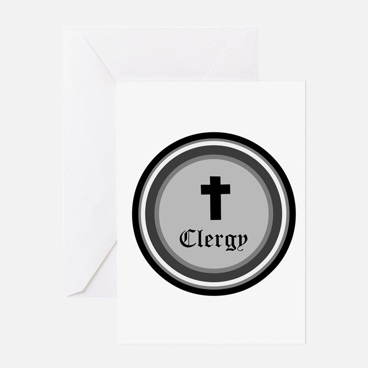 CLERGY Greeting Cards