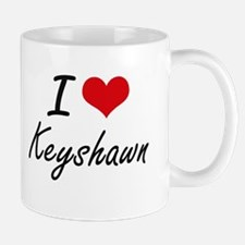 I Love Keyshawn Mugs