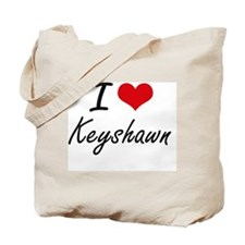 I Love Keyshawn Tote Bag