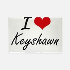 I Love Keyshawn Magnets