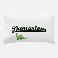 Damarion Classic Name Design with Dino Pillow Case