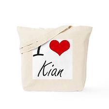 I Love Kian Tote Bag