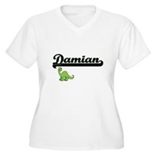 Damian Classic Name Design with Plus Size T-Shirt