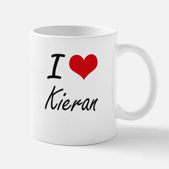 I Love Kieran Mugs