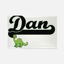 Dan Classic Name Design with Dino Magnets
