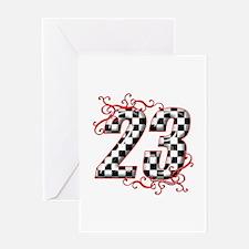 Unique 23 Greeting Card