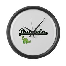 Dangelo Classic Name Design with Large Wall Clock