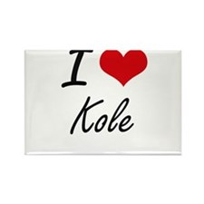 I Love Kole Magnets