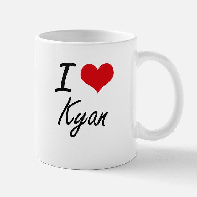 I Love Kyan Mugs