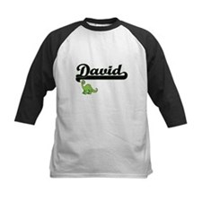 David Classic Name Design with Din Baseball Jersey