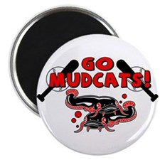 """Go Mudcats 2.25"""" Magnet (10 pack)"""