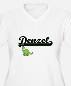 Denzel Classic Name Design with Plus Size T-Shirt