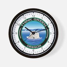 Environmental Polar Bear Oregon Wall Clock