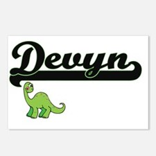Devyn Classic Name Design Postcards (Package of 8)