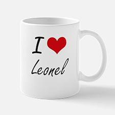I Love Leonel Mugs