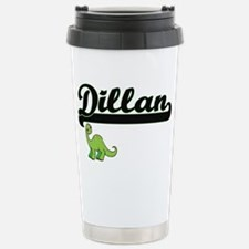 Dillan Classic Name Des Stainless Steel Travel Mug