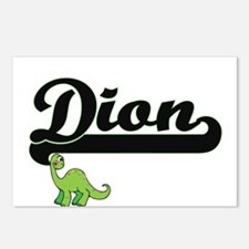 Dion Classic Name Design Postcards (Package of 8)