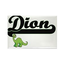 Dion Classic Name Design with Dinosaur Magnets
