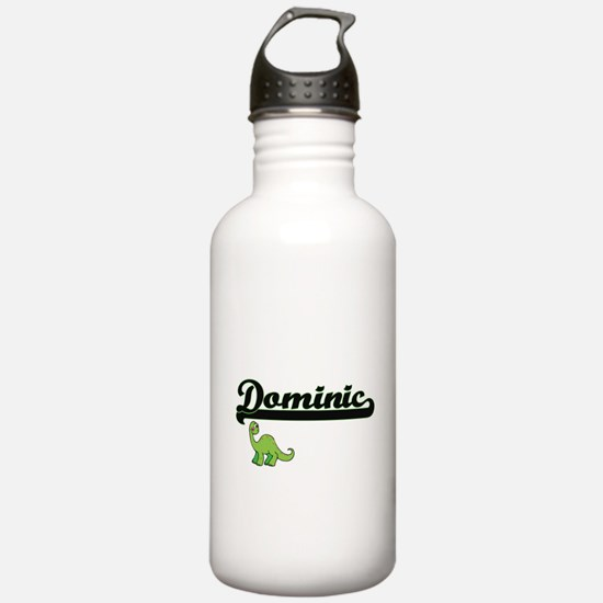 Dominic Classic Name D Water Bottle