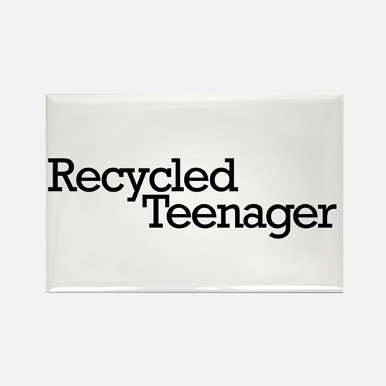 Recycled Teenager Rectangle Magnet