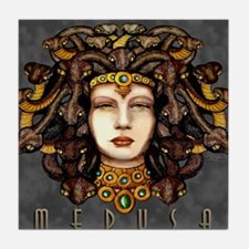 Medusa Steel Tile Coaster