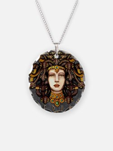Medusa Steel Necklace