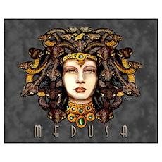 Medusa Steel Poster