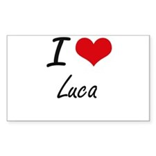I Love Luca Decal