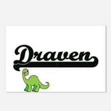 Draven Classic Name Desig Postcards (Package of 8)