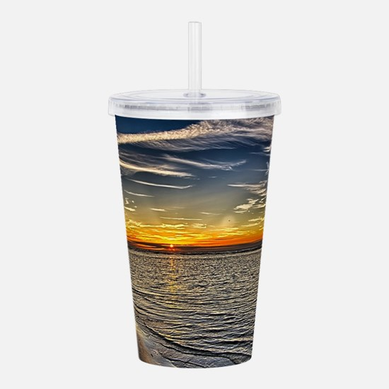 Before Sunset Acrylic Double-wall Tumbler