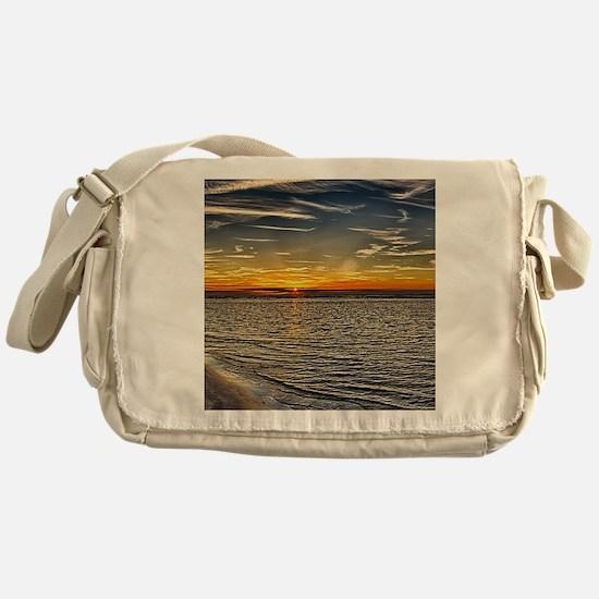 Before Sunset Messenger Bag