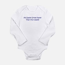 Automobile Long Sleeve Infant Bodysuit