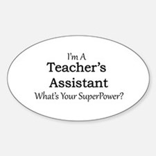Teacher's Assistant Decal