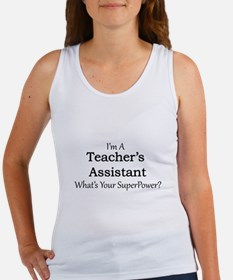Teacher's Assistant Tank Top