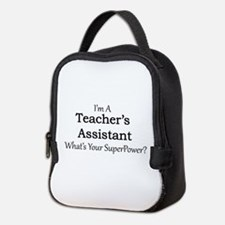 Teacher's Assistant Neoprene Lunch Bag