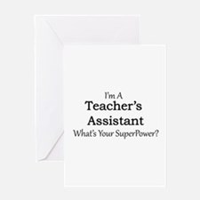 Teacher's Assistant Greeting Cards
