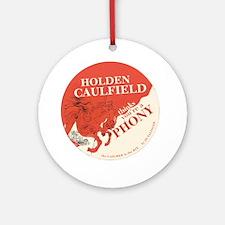 holden caulfield Round Ornament