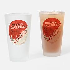 holden caulfield Drinking Glass