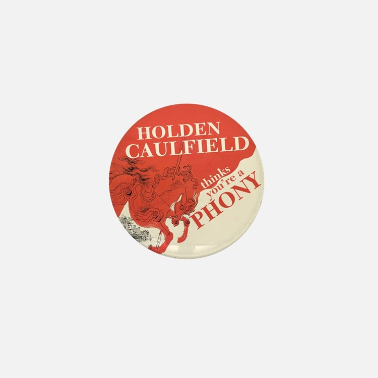 holden caulfield Mini Button