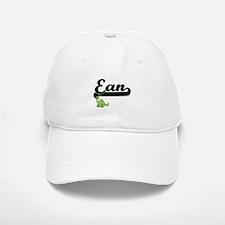 Ean Classic Name Design with Dinosaur Baseball Baseball Cap