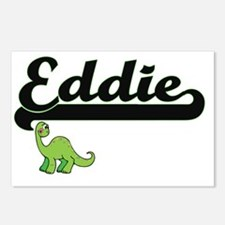 Eddie Classic Name Design Postcards (Package of 8)