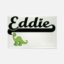 Eddie Classic Name Design with Dinosaur Magnets