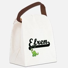 Efren Classic Name Design with Di Canvas Lunch Bag