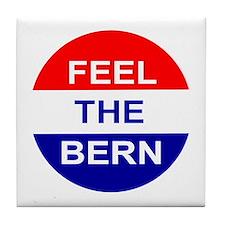 Feel The Bern Tile Coaster