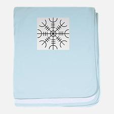 Viking Rune baby blanket