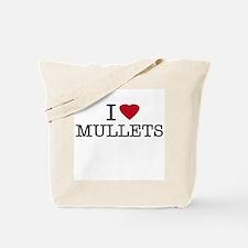 I Heart Mullets Tote Bag