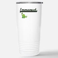 Emmanuel Classic Name D Travel Mug