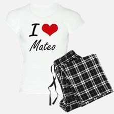 I Love Mateo Pajamas